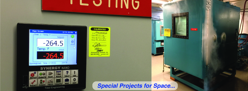 Special Projects for Space